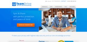 teamdrive free sites like dropbox