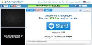 chatrandom free sites like chatroulette