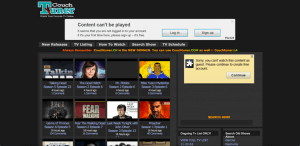 couchtuner free movie streaming site