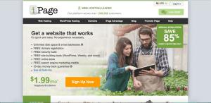 free web hosting ipage like godaddy