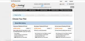 myhosting free website builders