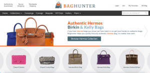 baghunter luxury hermes chanel resale consignment