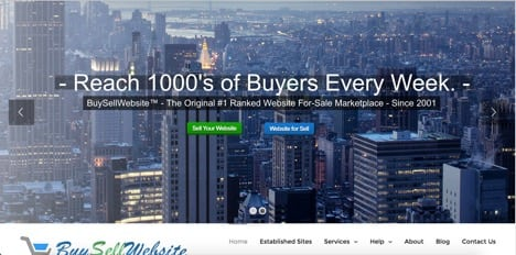 buysellwebsite sites like flippa