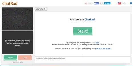 chatrad sites like omegle