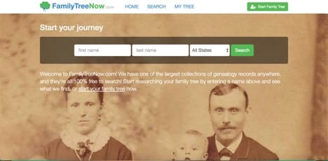 familytreenow sites like ancestry