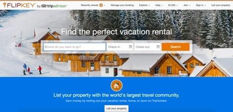 flipkey airbnb competitors