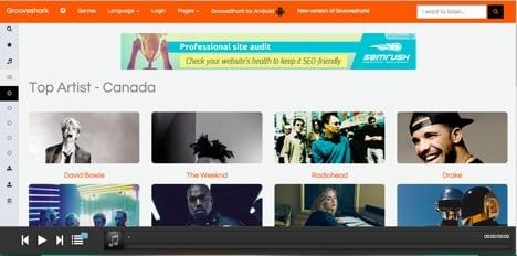 Grooveshark apps like spotify