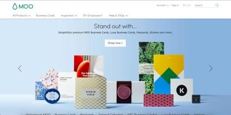 moo sites like vistaprint