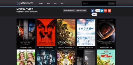 newmovies sites like primewire