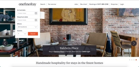 onefinestay sites like airbnb