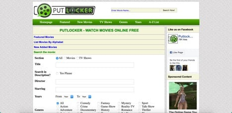 putlocker sites like primewire