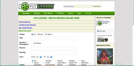 putlocker free sites like movie4k