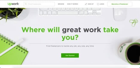 sites like freelancer upwork