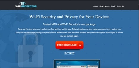 wifi protector sites like Total VPN