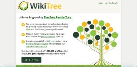 wikitree ancestry alternatives