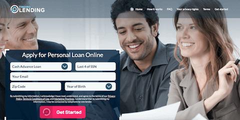 finding lending loans