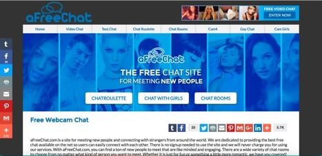 Sites like TinyChat afreechat