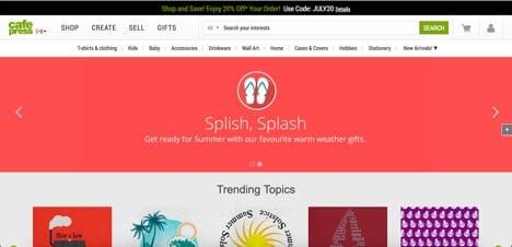 Sites like CafePress