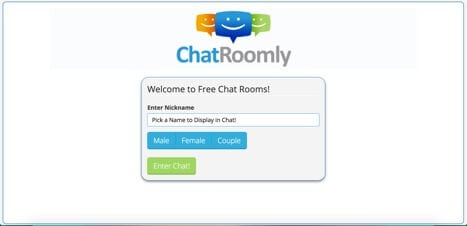 Chatroomly sites like TinyChat