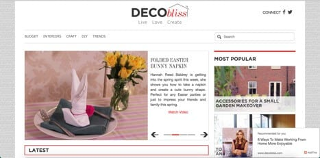 decobliss sites like YouTube