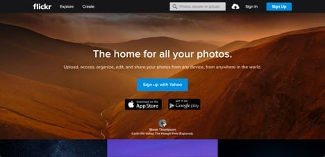 Sites like Flickr