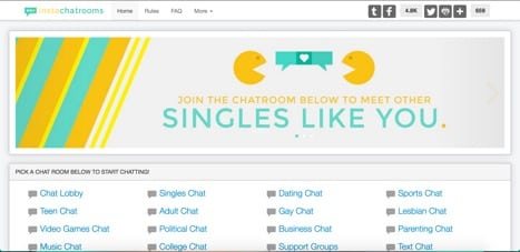InstaChatRooms sites like TinyChat