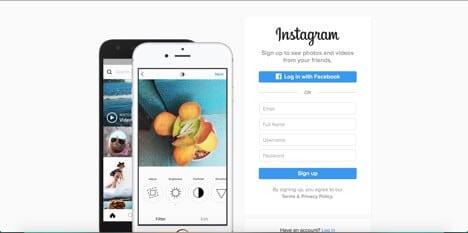 Sites like Instagram