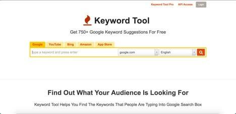 Sites like Keyword Tool
