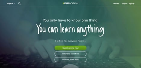 Sites like Khan Academy