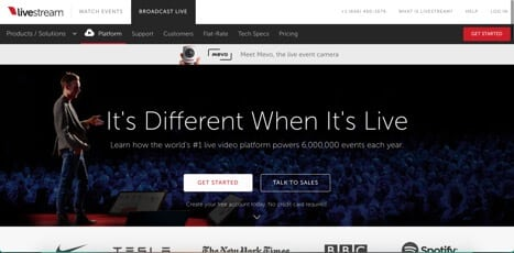 Sites like livestream
