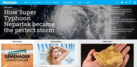 Sites like Mashable