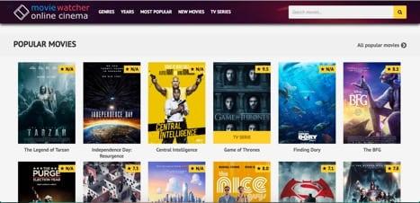 Sites like MovieWatcher