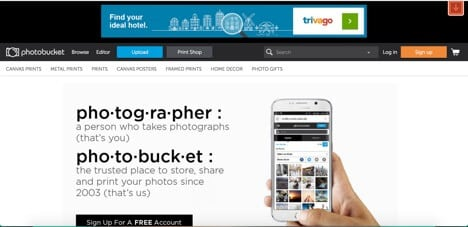 Sites like photobucket