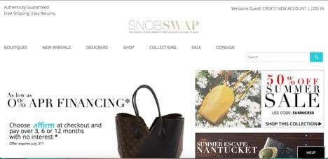 Sites like Snobswap