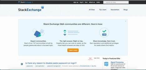 Sites like Stack Exchange
