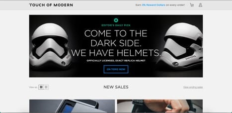 touch of modern online store