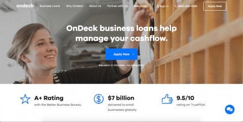 ondeck business loans