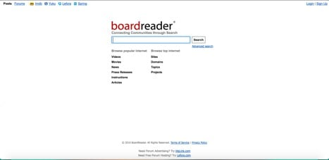 Sites like boardreader