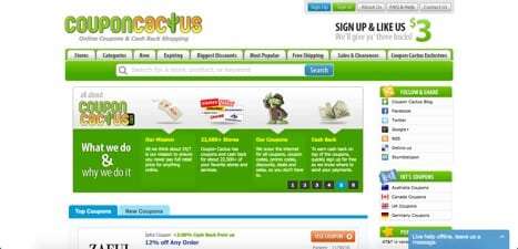 Sites like coupon cactus