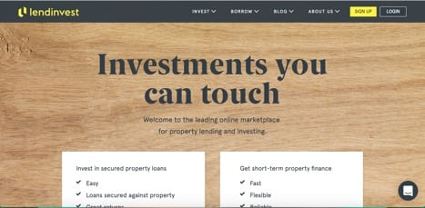 Sites like lendinvest