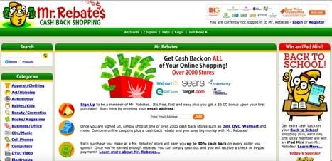 Sites like mr rebates