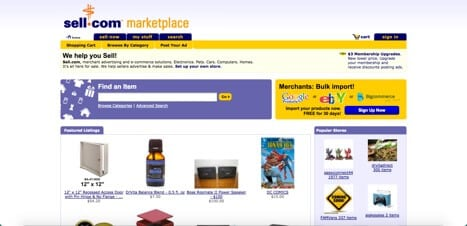 Sites like Sell