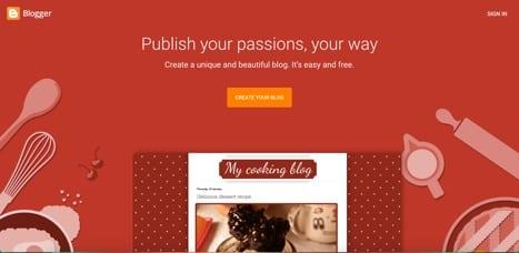 Sites like Blogger
