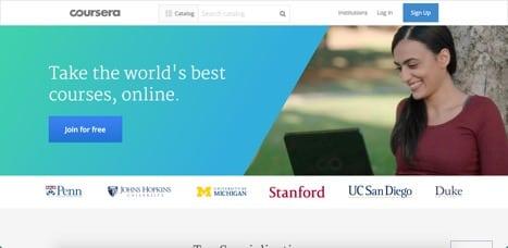 Sites like Coursera