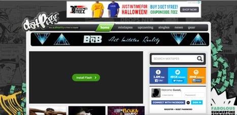 Sites like DatPiff
