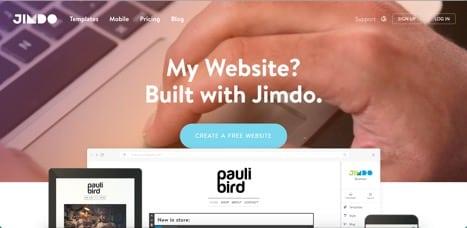 Sites like Jimdo