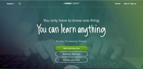 Sites like Khan Academy