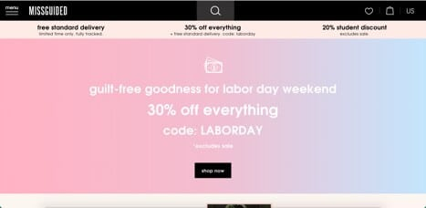 Sites like missguided