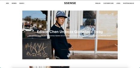 Sites like Ssense