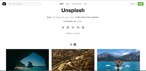 Sites like unsplash